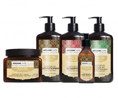 5-delni set izdelkov za nego las Castor Oil
