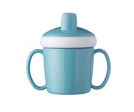 Otroška skodelica s pokrovom Nordic Green 200 ml