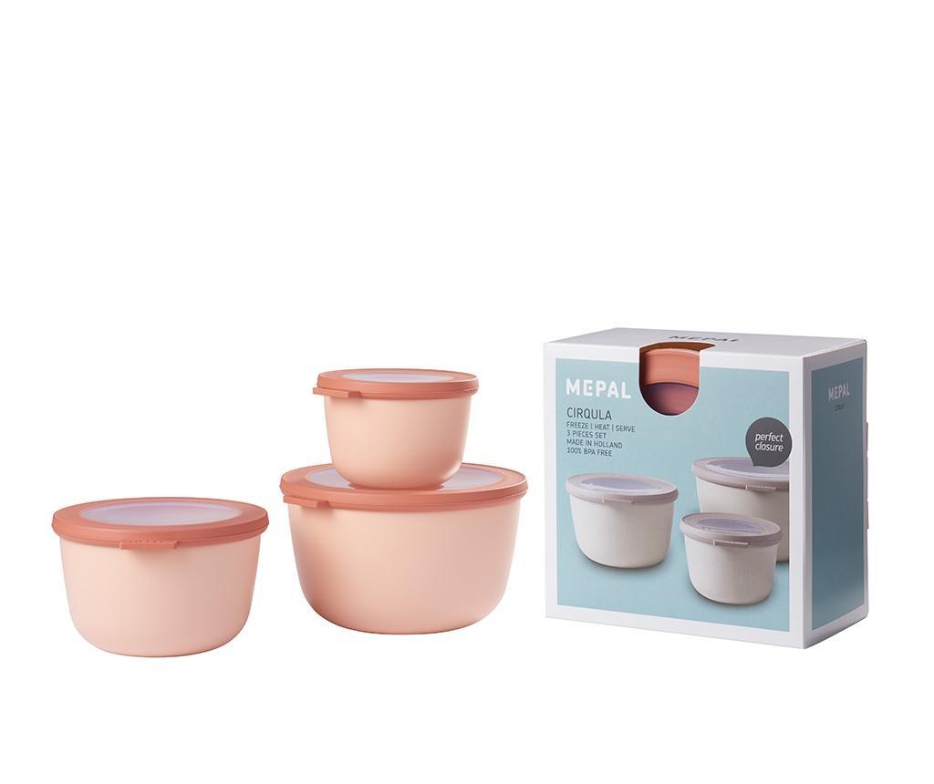 Set 3 caserole Sophi Pink
