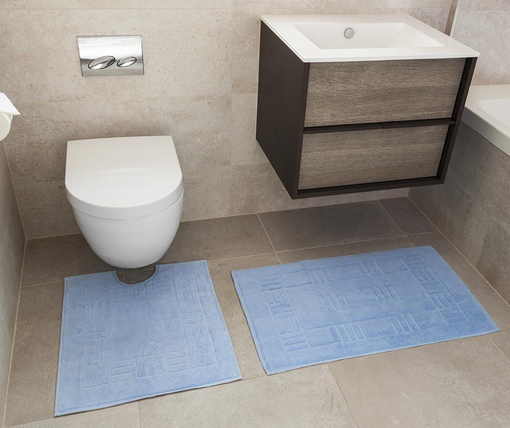 Reversible Verica Blue Fürdőszobai kilépő és szőnyeg
