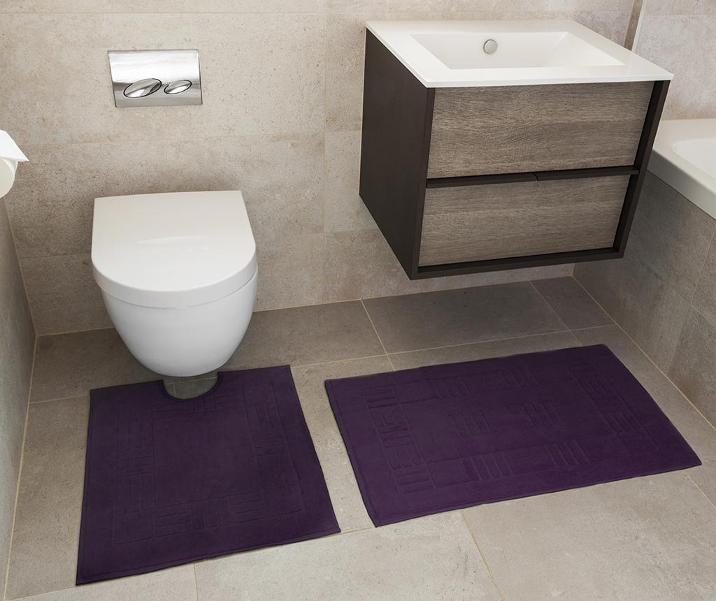 Reversible Verica Damson Fürdőszobai kilépő és szőnyeg