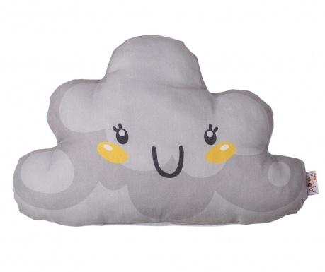 Perna decorativa Fluffy Cloud Grey 21x40 cm