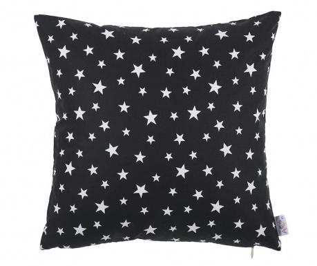 Fata de perna Sky Star Black and White 35x35 cm