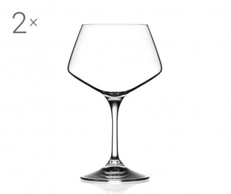Zestaw 2 lampek do wina Aria 500 ml