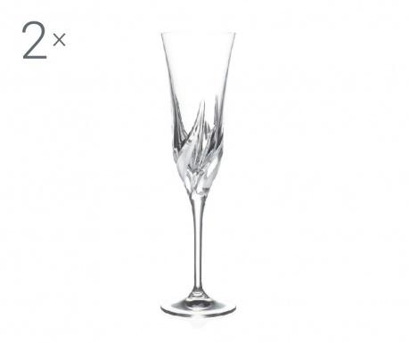Set 2 čaše za šampanjac Cetona 170 ml