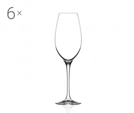 Sada 6 sklenic na šampaňské Invino 290 ml