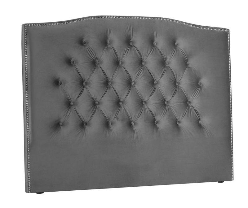Tablie de pat Cloves Silver Grey 140 cm
