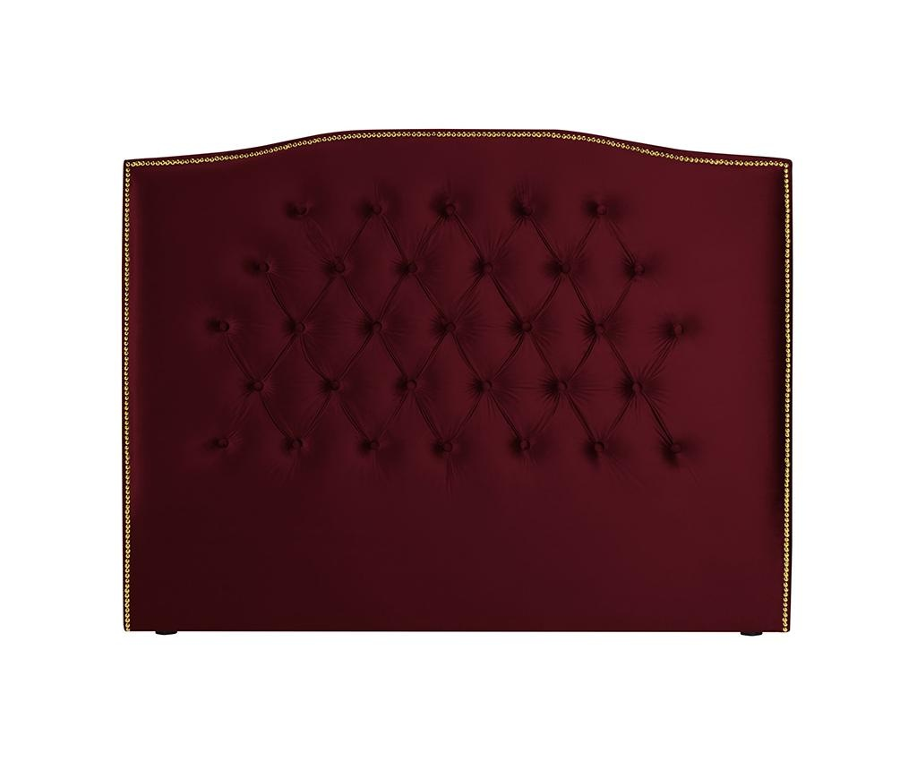 Tablie de pat Daisy Red Wine 140 cm
