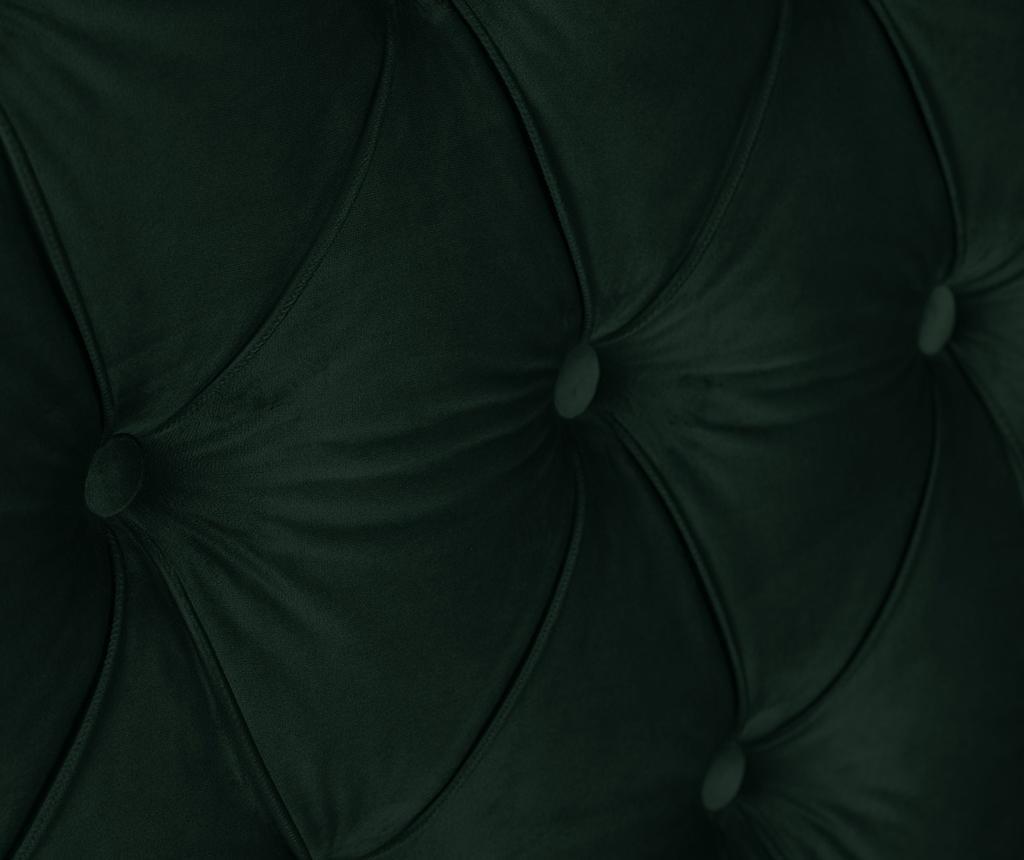 Tablie de pat Daisy Bottle Green 160 cm