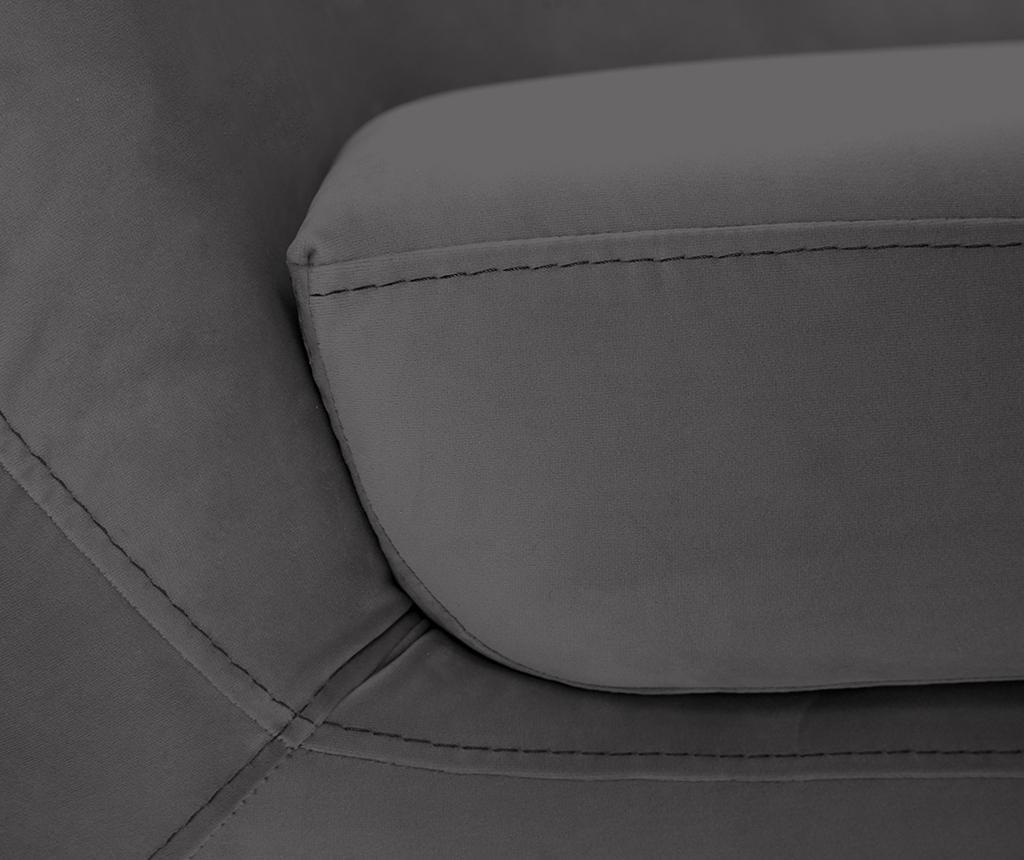 Amelie Grey Natural Kétszemélyes kanapé