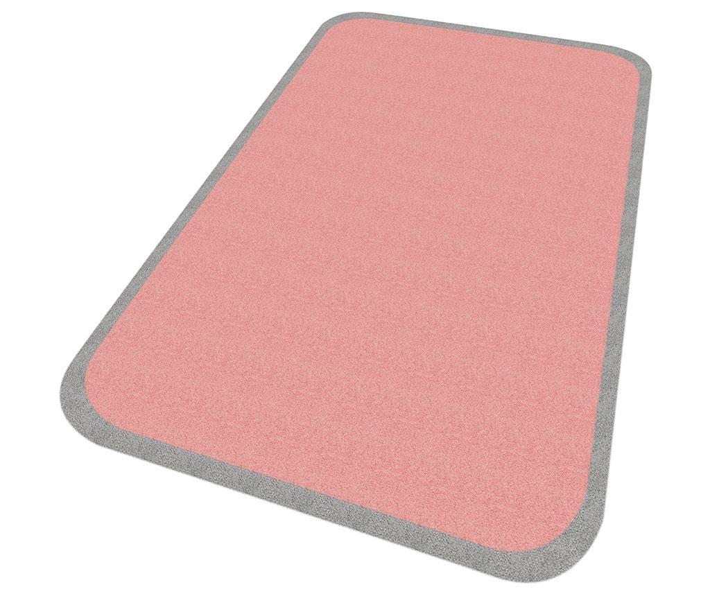 Preproga Linda Pink Grey 67x120 cm