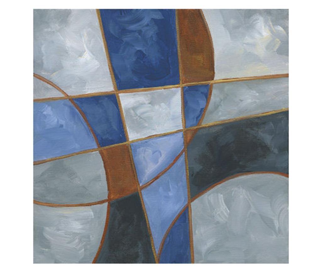 Slika Tangent 100x100 cm