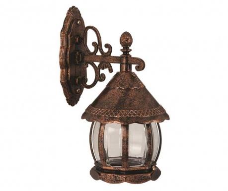 Zewnętrzna lampa ścienna Verna Lower Brown