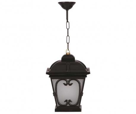 Venkovní závěsná lampa Duncan Black
