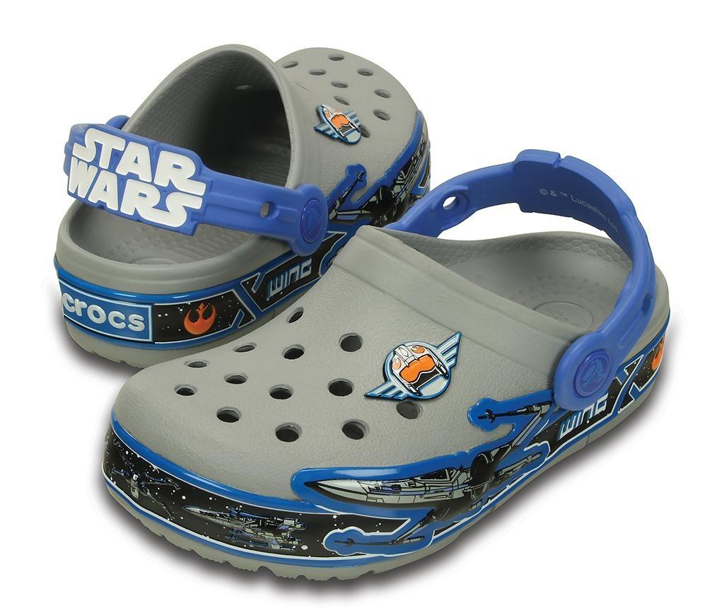 Dječje klompe Crocs Lights Star Wars 25-26