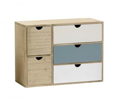 Mini Blue Ékszertartó szekrényke