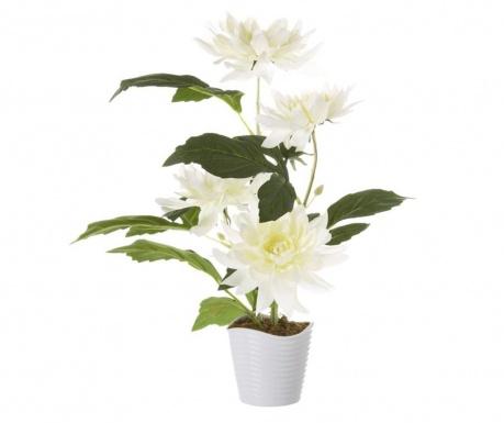 Umjetna biljka u posudi za cvijeće Dalia