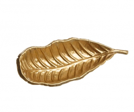 Platou decorativ Milly Leaf Gold