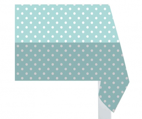 Fata de masa Green Polka Dots 132x178 cm