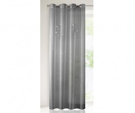 Záclona Yvette Steel 140x250 cm