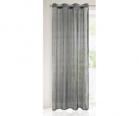 Záclona Agnes Grey 140x250 cm