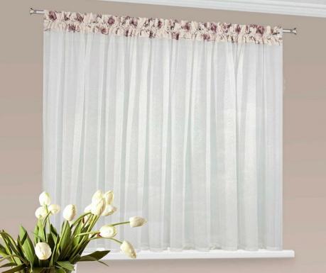 Záclona Daria Flowers 150x400 cm