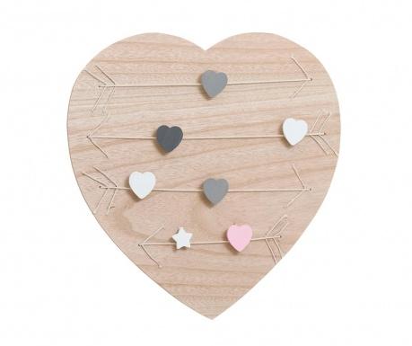 Memo tabla Hearts
