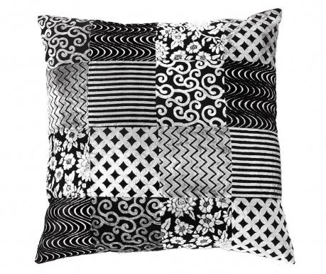 Perna decorativa Yantra Black Grey 52x52 cm