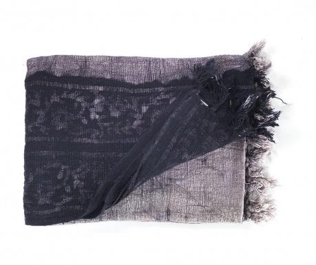 Pokrivač Yantra Black Grey 125x180 cm