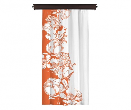 Draperie Efflorescence Orange 140x260 cm