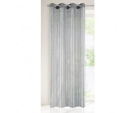 Záclona Aster Steel 140x250 cm