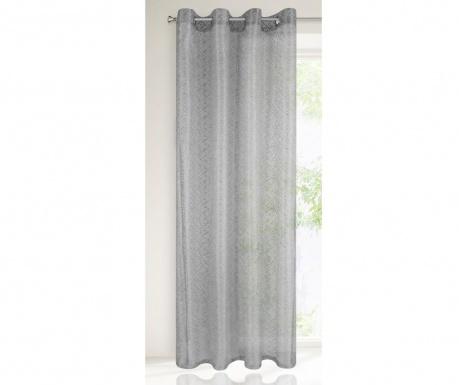Záclona Amanda Silver 140x250 cm