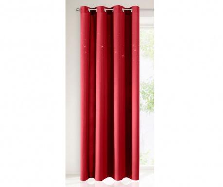 Závěs Sheila Red 140x250 cm