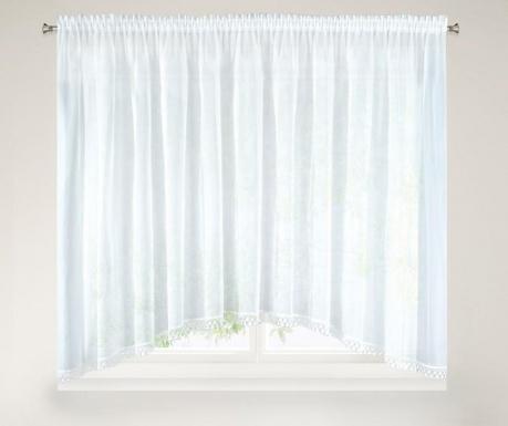 Záclona Aga White 145x400 cm