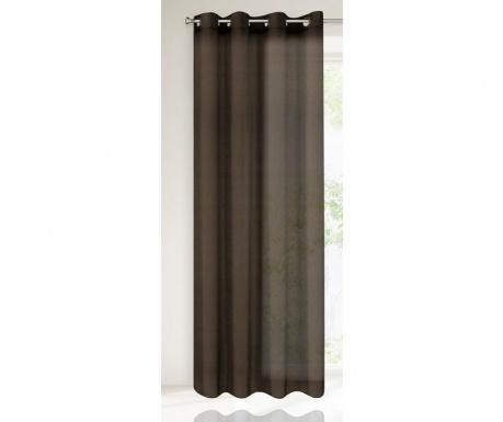Záclona Ester Brown 140x250 cm