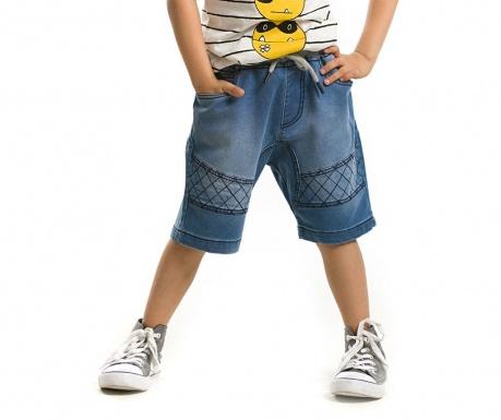Pantaloni scurti pentru copii Biker Indigo 2 ani