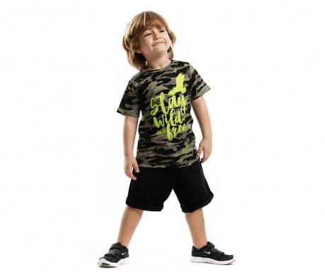 Set tricou si pantaloni scurti pentru copii StaYears Wild