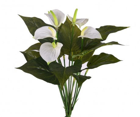 Buchet flori artificiale Laceleaf Bouquet White