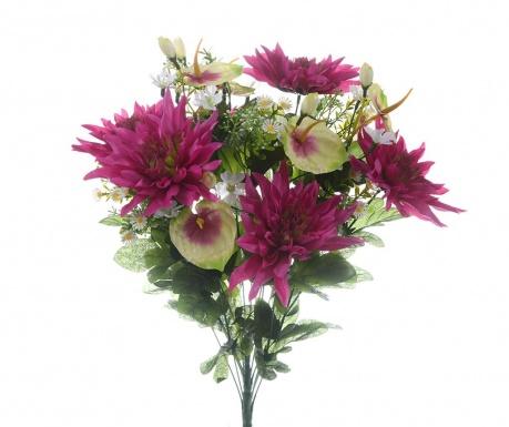 Buket umjetnog cvijeća Dahlia Magenta