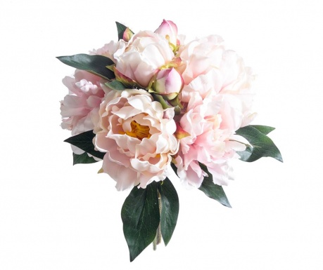 Peony Pink Művirág csokor