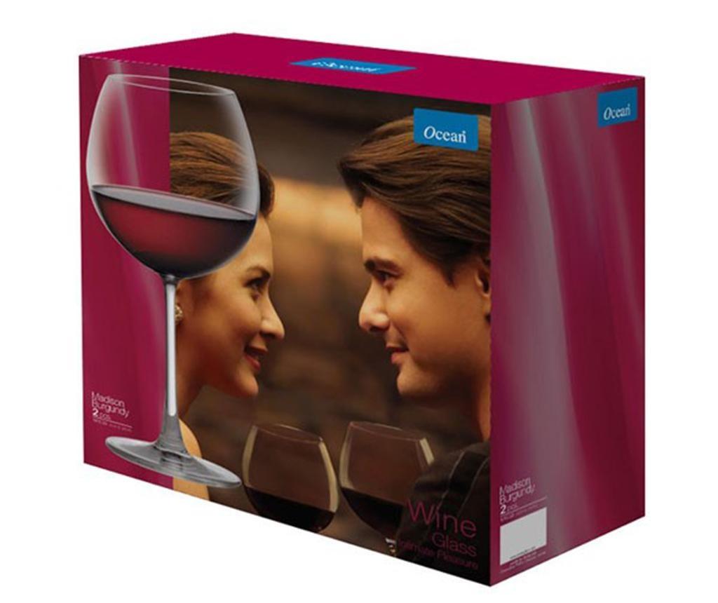 Set 2 čaše za vino Ocean Wine 600 ml
