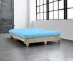 Sofa extensibila Fresh Natural and Celeste Blue
