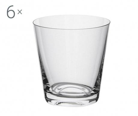 Set 6 pahare Bohemia Royal Jive Crystalite 330 ml