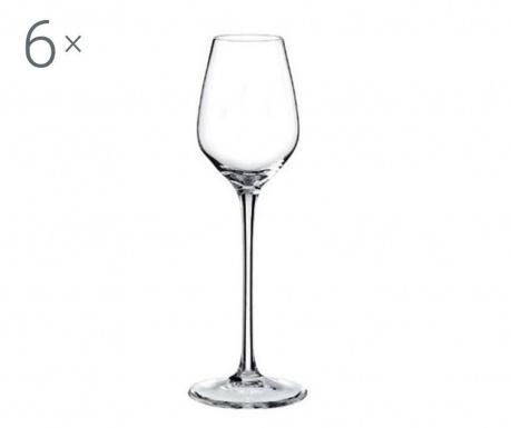 Rona Celebration Crystalite 6 db Talpas pohár 95 ml