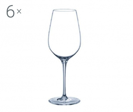 Set 6 pahare pentru vin Rona Prestige Crystalite 340 ml