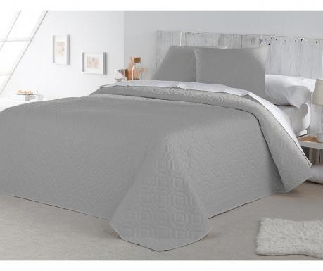 Set s prešitim posteljnim pregrinjalom King Lenon Grey