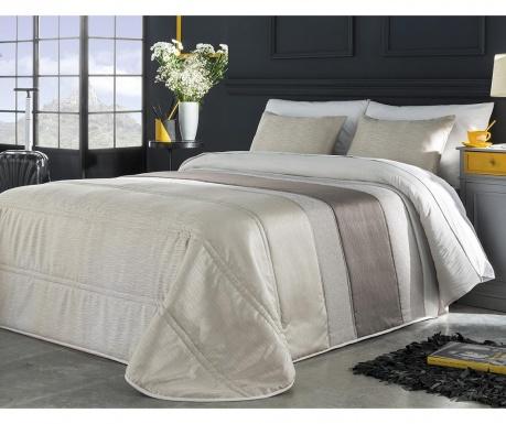 Set s prešitim posteljnim pregrinjalom King Dion Cream