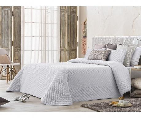 Set s prešitim posteljnim pregrinjalom King Montis White