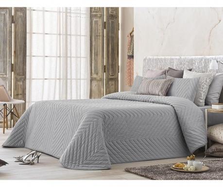 Set s prešitim posteljnim pregrinjalom King Montis Grey