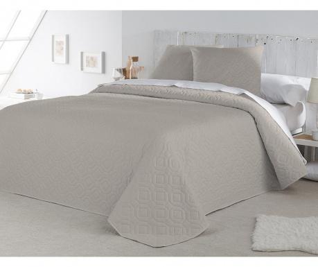 Set s prešitim posteljnim pregrinjalom King Lenon Cream
